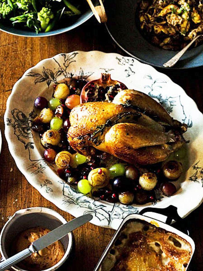 フルーツのソースでぐっと華やかに|『ELLE gourmet(エル・グルメ)』はおしゃれで簡単なレシピが満載!