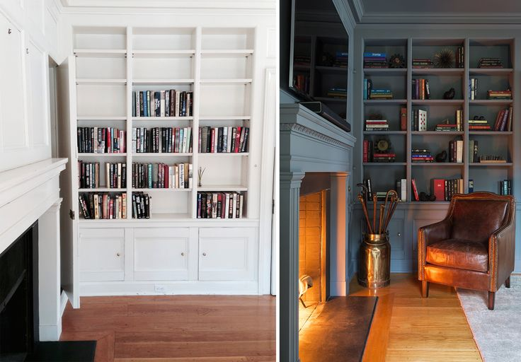 7B+A.-Litchfield-Countryside-Retreat---Library-Fireplace-Detail-by-Chango-&-Co