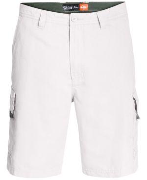 Quiksilver Waterman Men's Maldive Cargo Shorts - White 38