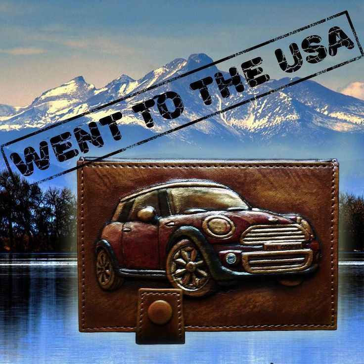 """This driver licence cover """"MINI COOPER' with a difficult 3D stamping has been shipped to Brighton Colorado the USA!/ Эта обложка для водительских прав """"МИНИ КУПЕР"""" со сложным 3D-тиснением была отправлена в Брайтон штат Колорадо США! See more here: http://ift.tt/2pRvauH  Contacts for orders  E-mail:furmani.exclusive@gmail.com Viber/Whatsapp:380683835478Worldwide shipping  #furmani #leathergoods #driverlicencecover #coverfordocuments #minicooper #cargram #USA #Brighton #Colorado #us #America…"""