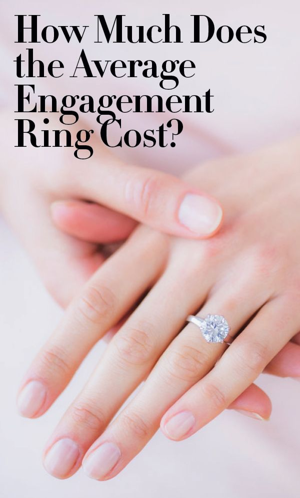 How Much Is The Average Enement Ring | This Is How Much People Spend On Average On An Engagement Ring
