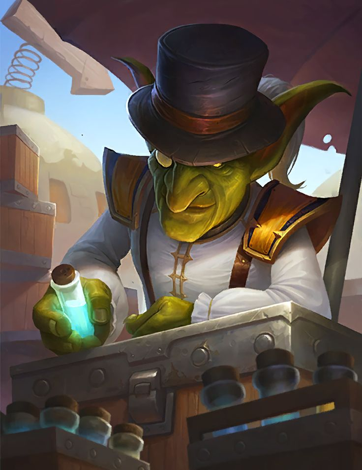 Swiftdeath, goblin procured of rare poisons in Graywall