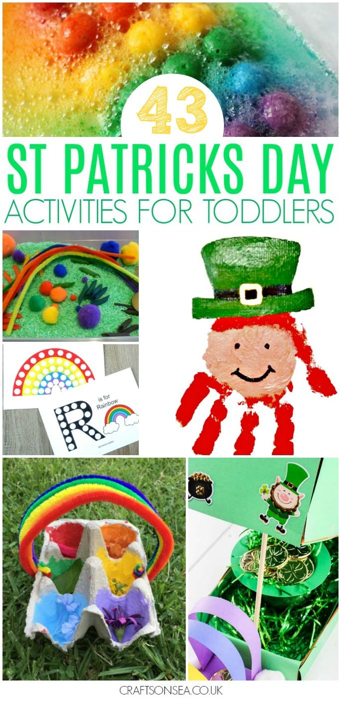 Preschoolers Art Simple St Patricks Projects Day