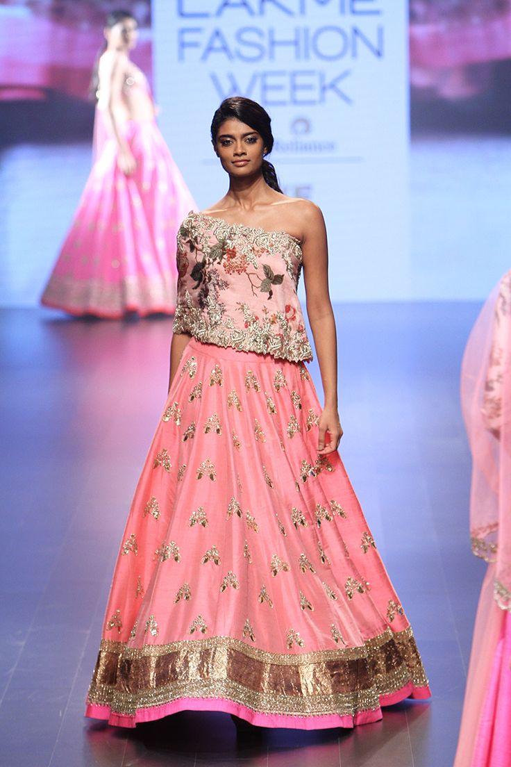 Anushree Reddy | Lakmé Fashion Week winter/festive 2016 #AnushreeReddy…