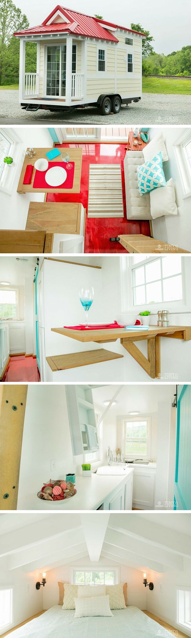 Red Shonsie Tiny House by 84 Lumber