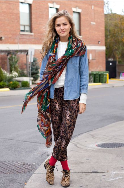Their Pretty Looks: Elissa Mielke or The Girl Who's Fearlessly Stylish