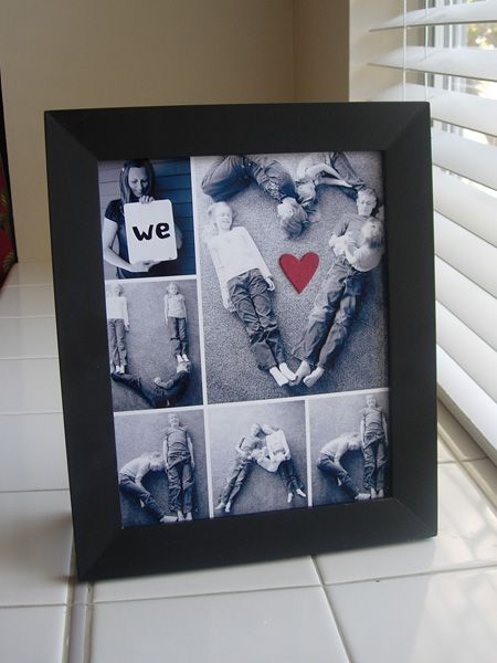 Photo letter collage