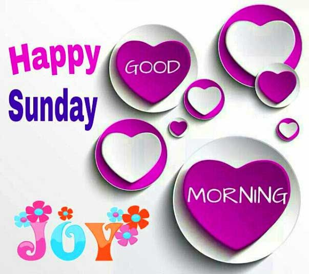 good morning happy sunday | Sunday Pictures, Images, Graphics for Facebook, Whatsapp ...