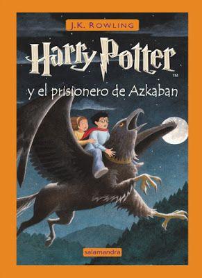 Reseña: Harry Potter y el Prisionero de Azkaban (HP#3) de J. K. Rowling Curiosidades de la pelicula   Titulo:Harry Potter y El Prisionero de Azkaban Autor:J. K. RowlingEditorial:SalamandraGenero:Fantasia juvenil aventura misterio.Nº Paginas: 360ISBN:8478886559Sinopsis: Por la cicatriz que lleva en la frente sabemos que Harry Potter no es un niño como los demás sino el héroe que venció a lord Voldemort el mago más temible y maligno de todos los tiempos y culpable de la muerte de los padres…