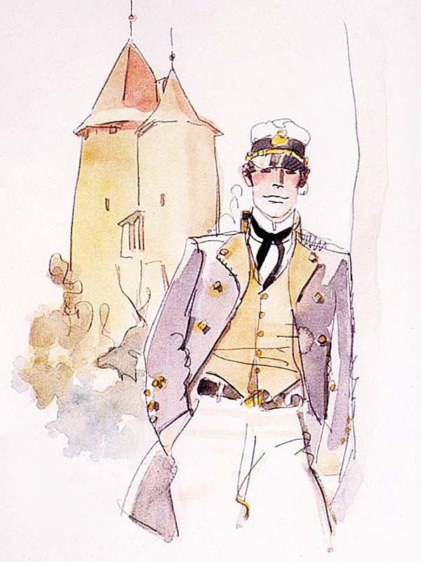 Hugo Pratt - Corto Maltese in the City of Valais (1988) - Tower of Wizards