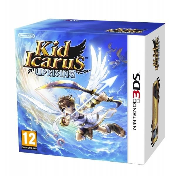 Kid Icarus Uprising (includes 3DS Stand) Game 3DS | http://gamesactions.com shares #new #latest #videogames #games for #pc #psp #ps3 #wii #xbox #nintendo #3ds