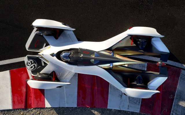 L'auto che si indossa come una tuta ed è a propulsione laser. #chevrolet #charrapal #2x