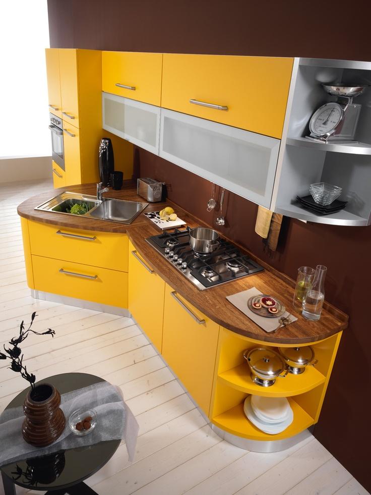 #ROUND #KITCHEN  http://spar.it/ita/Catalogo/Cucine/Cucine-moderne/ROUND/Default-cc-255.aspx