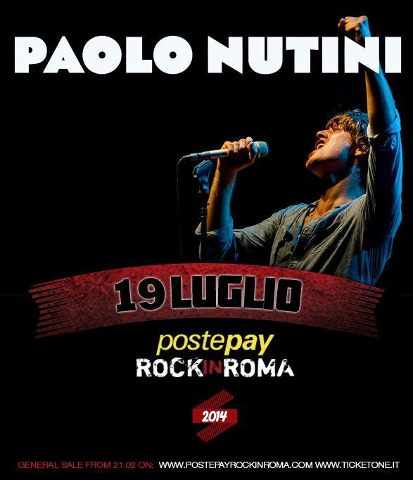 Paolo Nutini - 19 luglio 2014 Postepay Rock in Roma