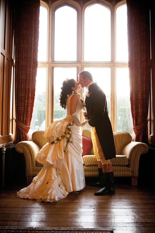 Victorian wedding theme inspiration with period dresses and details