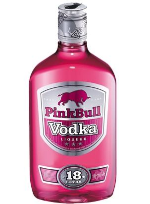 don't drink nbut it's pink!