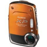 Fujifilm FinePix XP20 Orange 14 MP Digital Camera with 5x Optical Zoom – Orange