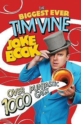 Tim vine - the #biggest ever tim vine joke book #(paperback) #9781846058271,  View more on the LINK: http://www.zeppy.io/product/gb/2/172244656468/