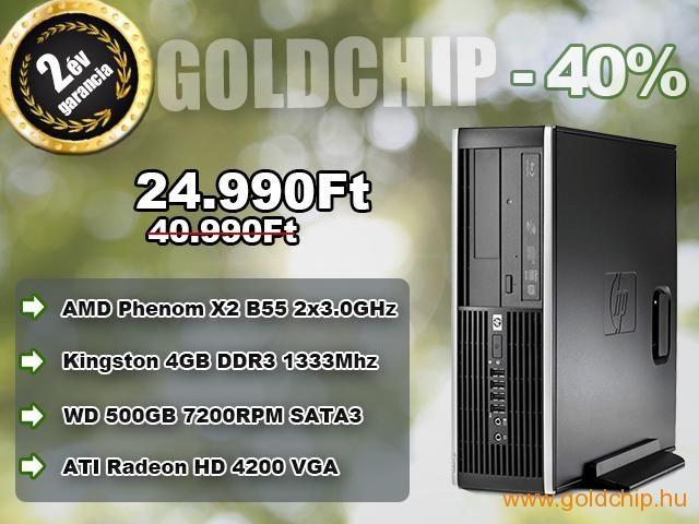 HP AMD Phenom 2x3,0Ghz - 4GB DDR3 RAM - 500GB HDD PC  http://www.goldchip.hu/HP-AMD-Phenom-2x3-0Ghz-4GB-DDR3-RAM-500GB-HDD-PC-d30923.htm