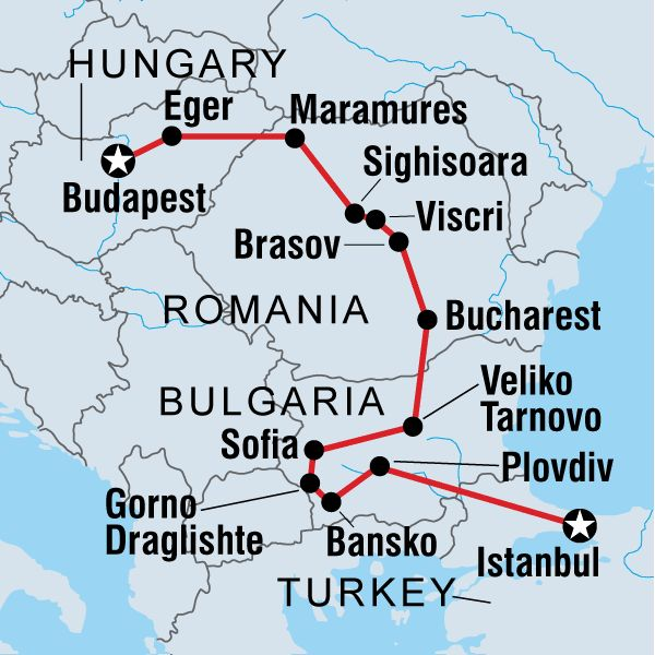 Explore Eastern Europe in Europe - Love to retrace my roots!