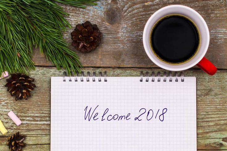 The combination of goals setting, repeating positive affirmations, and tracking creates an excellent start to the new year.