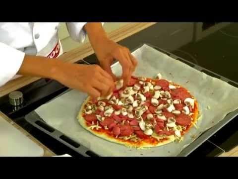 Ev Yapımı Pizza Tarifi | Pizza Nasıl Yapılır | Pişirmece - YouTube
