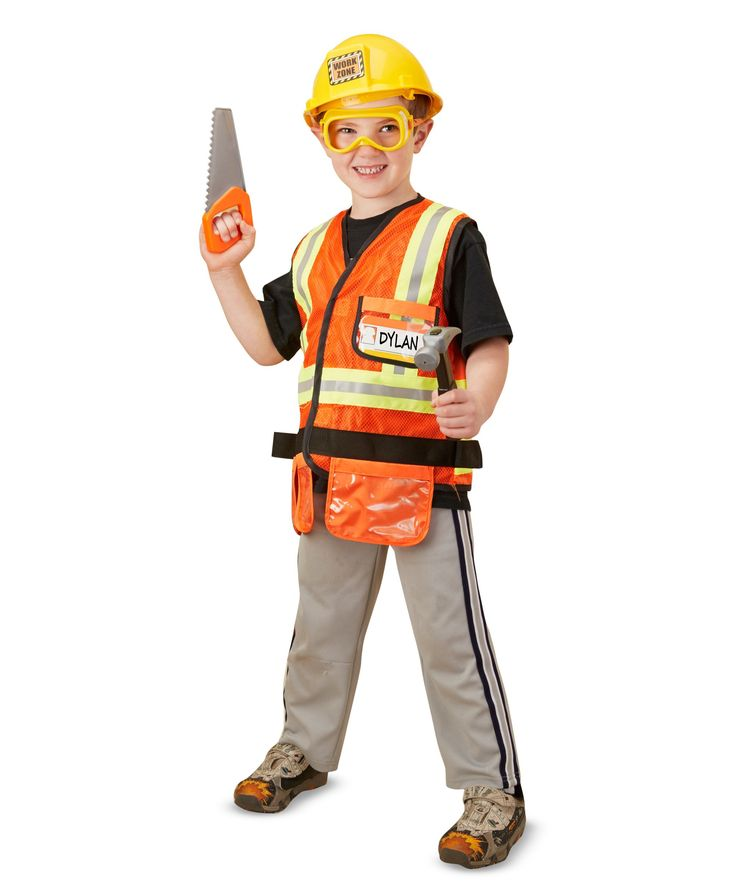 The 25+ best Construction worker fancy dress costume ideas on - construction worker job description