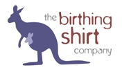 The birthing shirt company, with their beautiful bamboo birthing shirts stock Ready Mama and New Mama