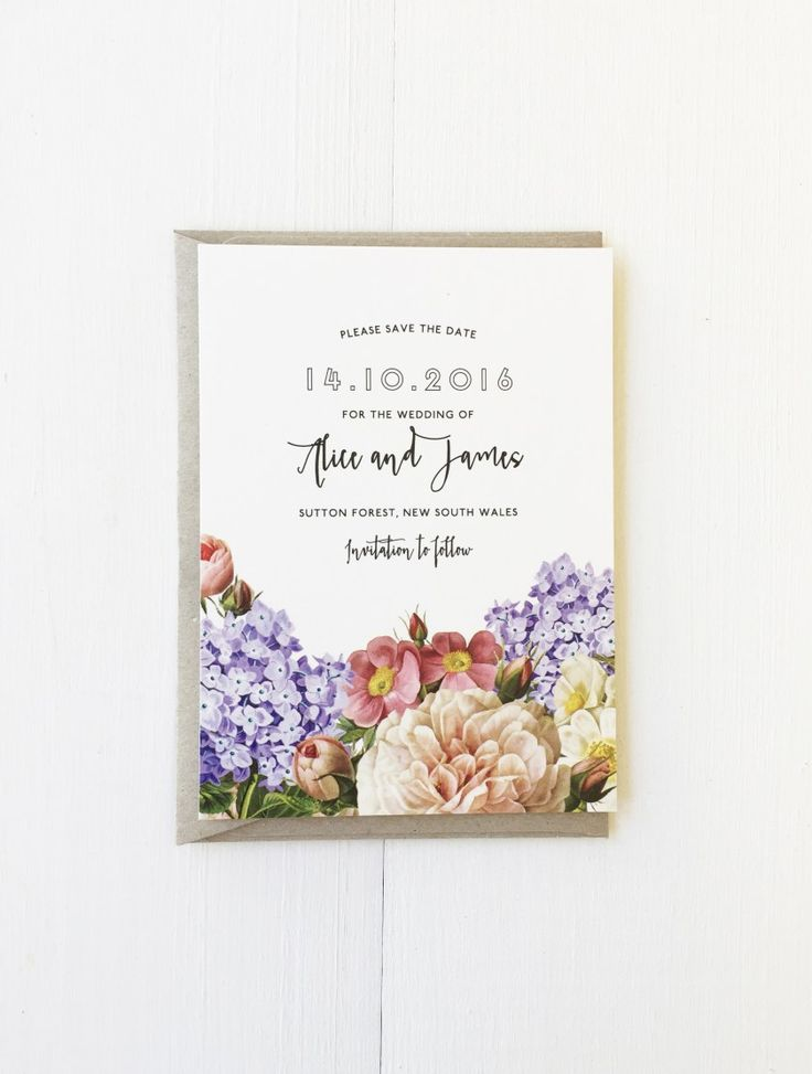 Winterwoods / wedding stationery / GARDEN