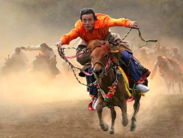 Wild Horse Riding by Rui Yuan