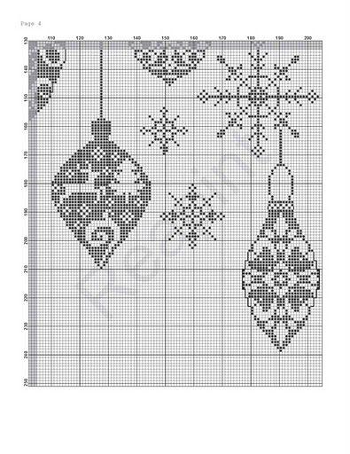 Filet crochet...? 04 - Christmas Balls