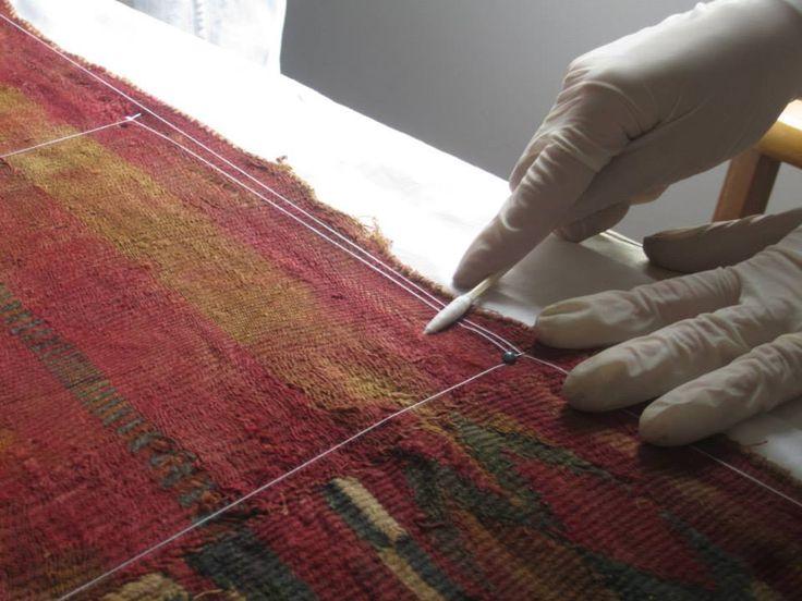 Textiles; conservación