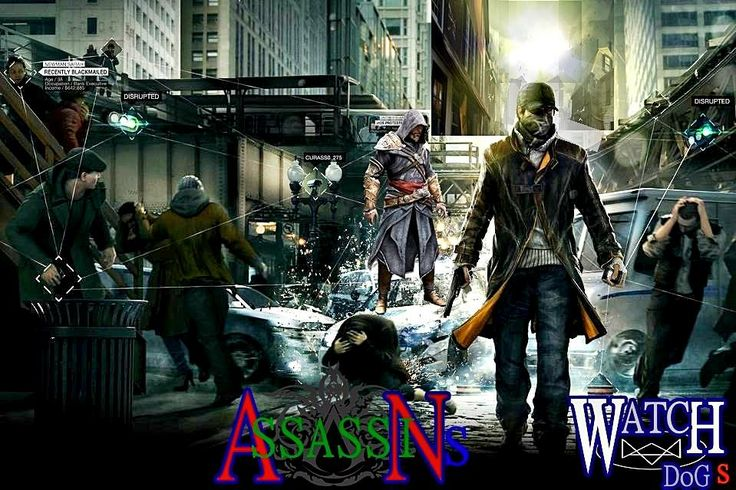 ASSASSINS WATCH DOGS from  THE GUARDIAN GAMES  page fb