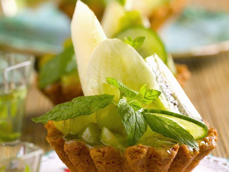 Törtchen mit Honigmelone und Minze - smarter - Zeit: 1 Std. 30 Min.   eatsmarter.de