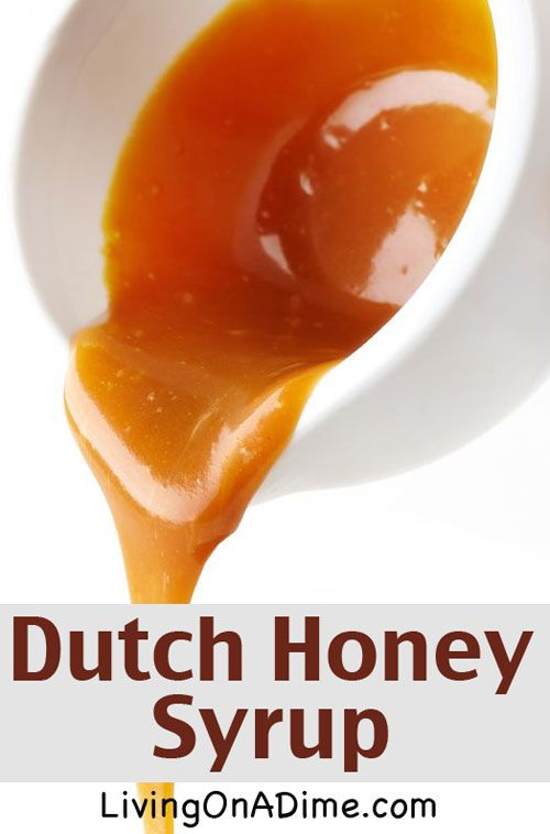 Easy Dutch Honey Syrup And Other Breakfast Recipes