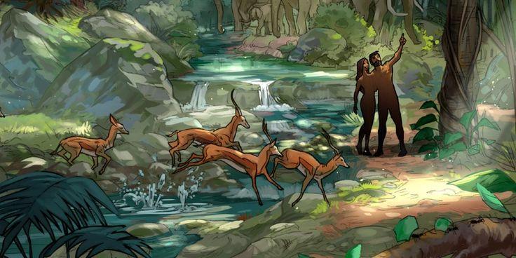 Adão e Eva foram muito egoístas! | História Bíblica Ilustrada