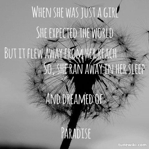 Paradise - Coldplay -- #LyricArt