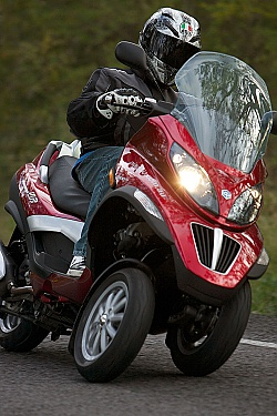 Piaggio MP3 2010 test