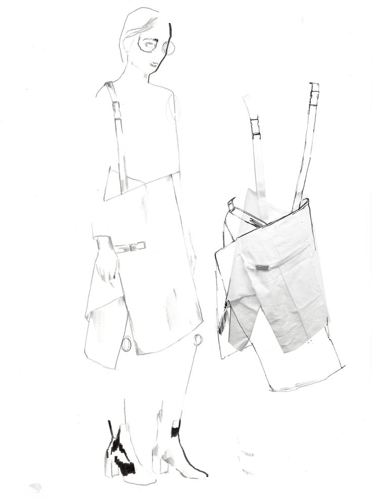 Fashion Sketchbook - fashion sketches; tailoring development; fashion portfolio // Alexandra Baldwin