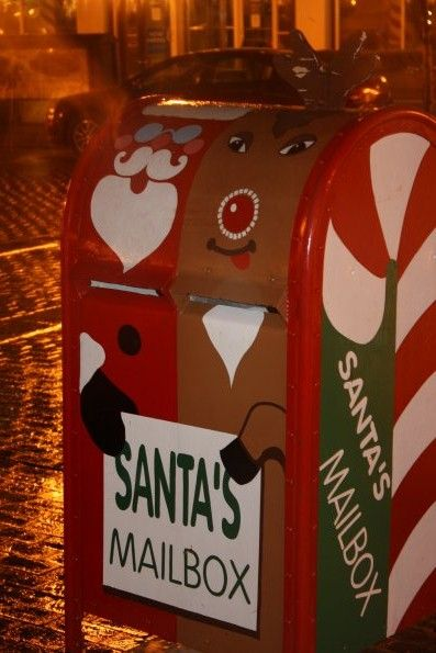 santa north pole mailbox