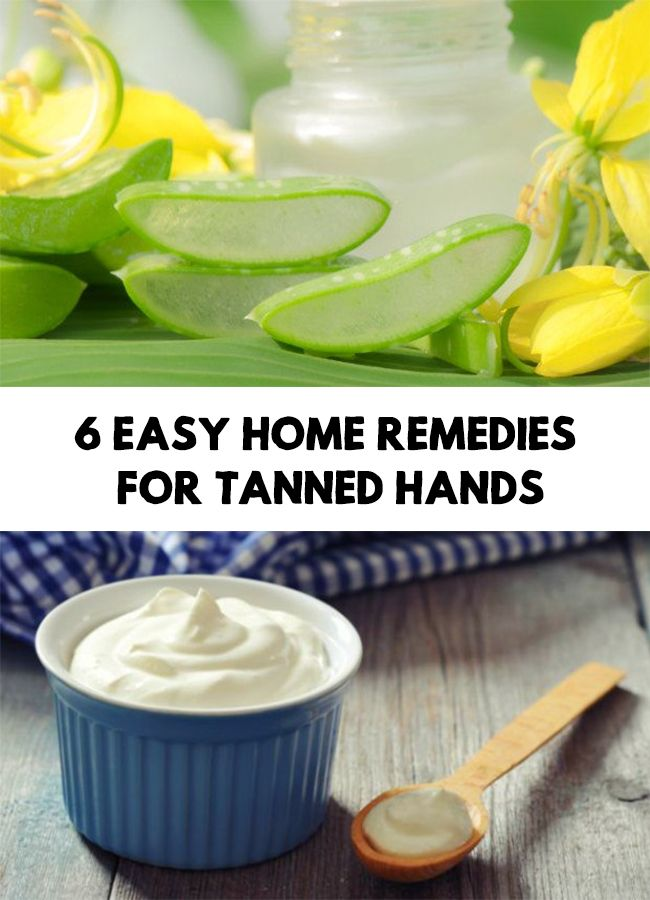 Hands are among the parts of the body that are most exposed to sun. Find out 6 Easy Home Remedies for Tanned Hands!