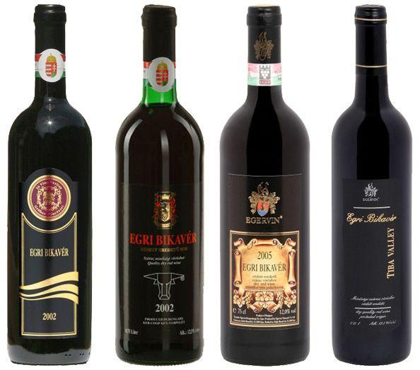 Wines - Egri Bikavér my favorit very best wine sort