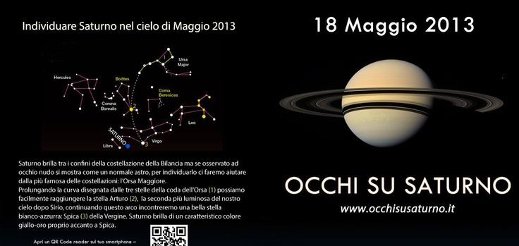 """""""Notte dei Musei 2013"""" e """"Occhio su Saturno"""", seconda edizione. Appuntamento al Museo Faggiano di Lecce #ndm13 #nottedeimusei"""