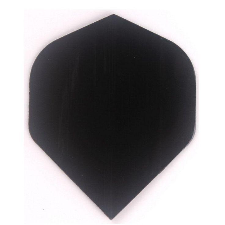 [Visit to Buy] 30 pcs of Flight Pure Black Dart Flights Darts Dart Flight - Free shipping  R5 #Advertisement