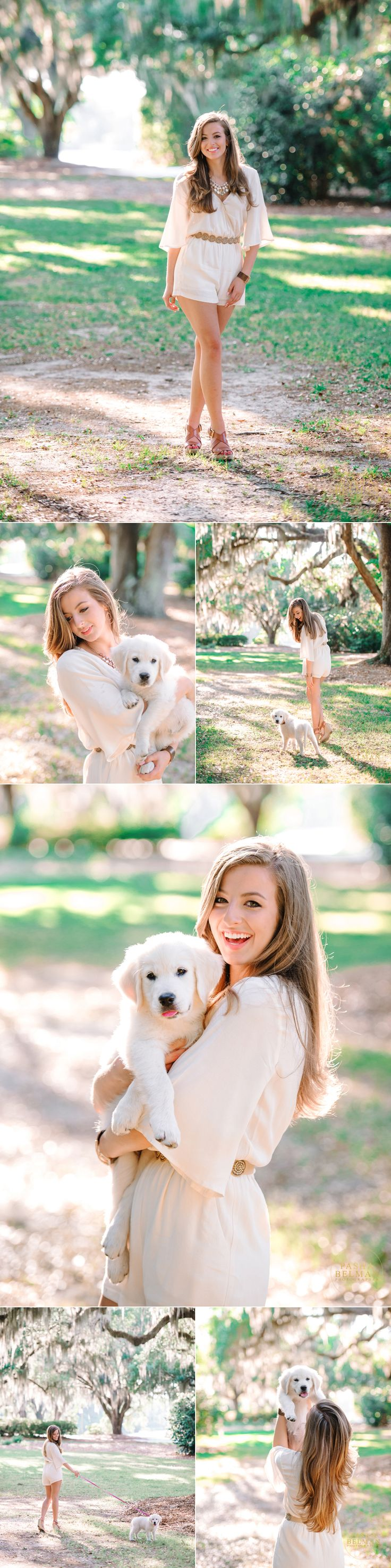 High School Senior Pictures | Senior Pictures and Ideas for Girls | High School Senior Photography with Pets | Cute Dog.  Photography by: Pasha Belman Photography Based in Myrtle Beach, South Carolina 843.333.5301 www.pashabelmanphotography.com