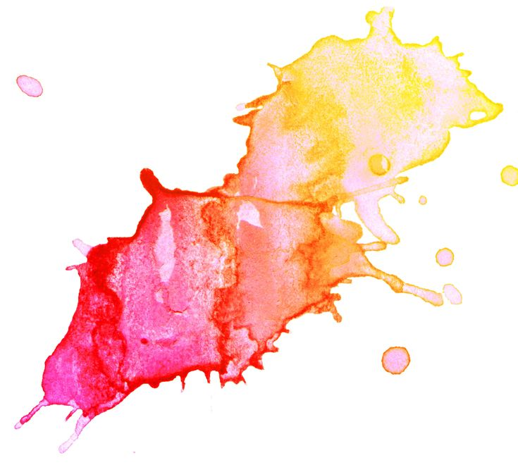 Watercolour splash colour palette ideas