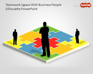 9 best 3d powerpoint templates images on pinterest places to teamwork powerpoint diagram with jigsaw illustration is a very simple diagram template for powerpoint that you toneelgroepblik Image collections