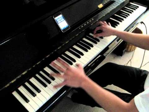 fantastic piano cover of the Foo Fighters - Everlong