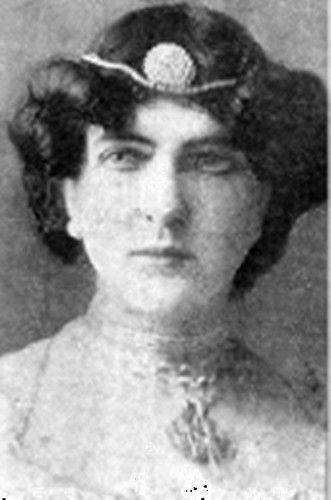 Delmira Agustini. Poetisa uruguaya.