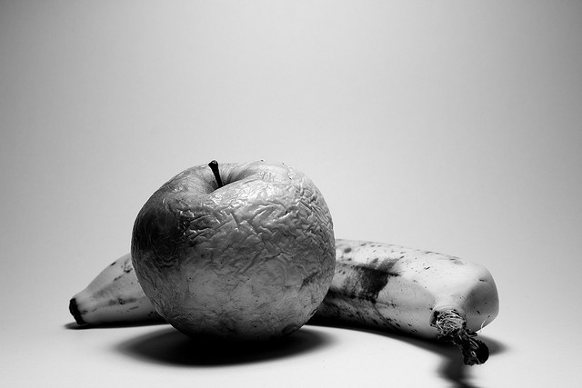 Rotting fruit by VanDammeMaarten, via Flickr
